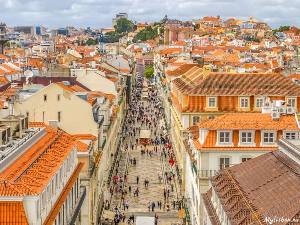 Район Байша в Лиссабоне (Baixa)