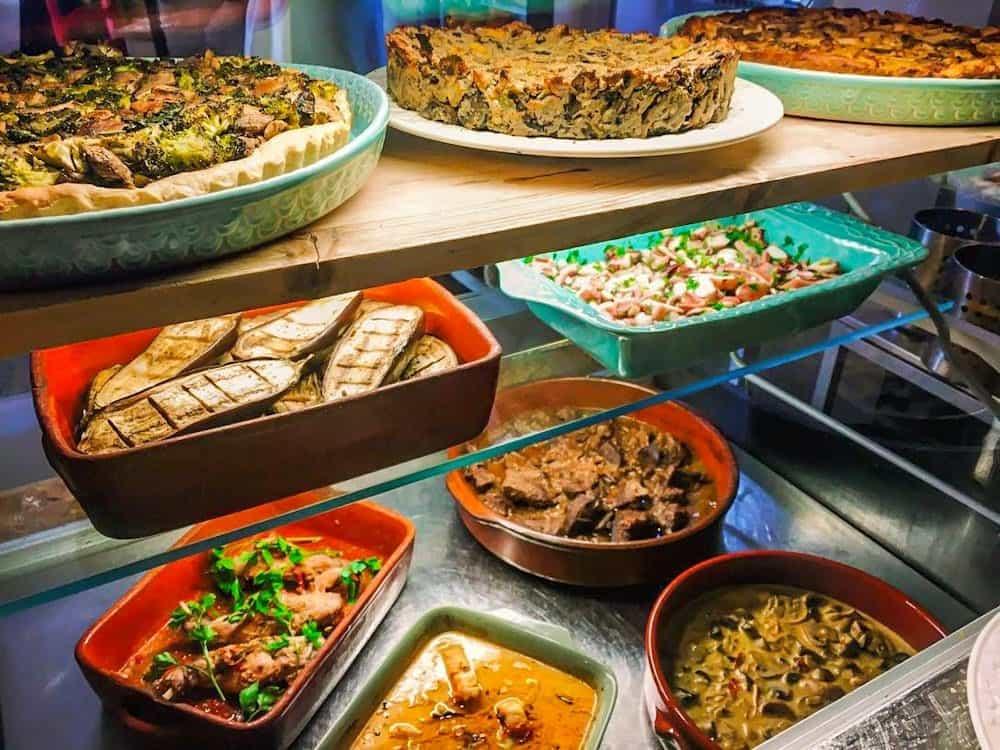 Вегетарианский ресторан в Лиссабоне