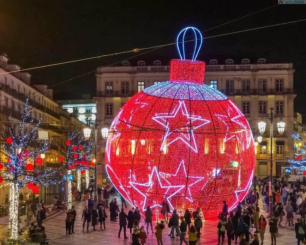 Рождество и Новый год в Лиссабоне